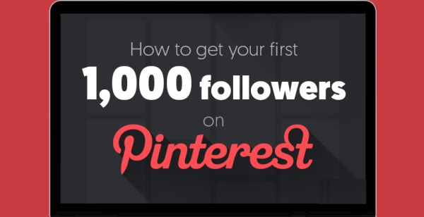 Pinterest 1000 Follower