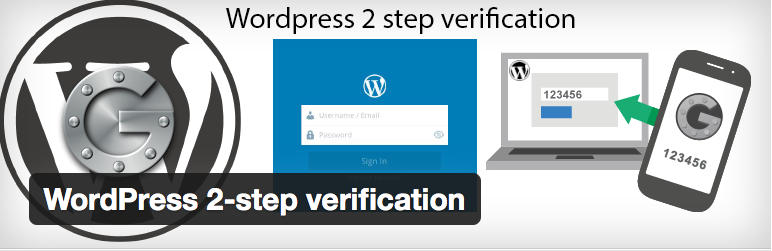 WordPress 2-step verification