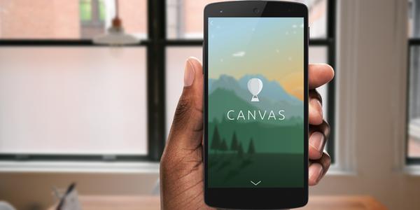 Facebook Canvas Ads Smartphone