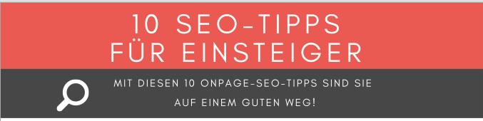 10 SEO-Tipps für Einsteiger PDF Download